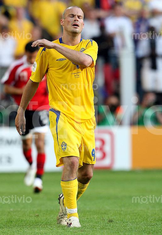 Fussball   WM 2006   Gruppenspiel Vorrunde   Trinidad und Tobago - Schweden Freddie LJUNGBERG (SWE) enttaeuscht