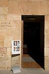 Salamanca Museum Entrance, Salamanca, Castile and Leon, Spain