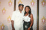Speedy and Meeka Claxton Attend the Launch of QREAM With A Q Created by Pharrell Williams, held at the New York Public Library, NY 7/20/11