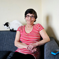 Alice Kimmins, 62.<br /> <br /> 'I love baking. If I had my money, I would buy flour and make fruit loafs and scones. I love my mince and tatties (potatoes), that would be the best meal.  If it wasn't for that food bank I don't know what I would have done&hellip;.. Growing up I was in care for 2 year in Dunoon, mother and father split up.  During the summer I worked in a cafe during the holidays but I had to go with my granny, my dads mum. I got a job in Millers of Castlemilk, as a machinist.  I used to adjust curtains.  Then I worked in Gartnavel [hospital] for three years as a domestic [cleaner]&hellip;..I loved it.  Then I moved in with my grandad and looked after him for 12-13 year. He was [actually] a friend of the family but see from when I was a wee girl I called him grandad. I was more or less his personal carer.  I took all the rubbish jobs to pay for it.  I worked in an army academy as a cleaner. Then I ended up with chronic back pain. That&rsquo;s how I'm on dihydrocodeine today. I hate taking tablets, I see what happens to people taking tablets. I&rsquo;m not a tablet person but if you have to take them what can you do&hellip;..I have chronic back pain, carpal tunnel syndrome and spondylitis which is arthritis really. I would love to go out and work and do my domestic. I'm on painkillers and antidepressants, been on them for 12 year. I stopped working when I stayed in Drumchapel, about 25 year ago&hellip;..When I moved in here, they told me I get paid a day later. I went to get payment and there was nothing in! I phoned them and they said my account was closed down.  They sent a letter to go for a medical assessment but they must have sent it to 75 [old address]. I had already changed my details. All I  did was cry.  I said 'I need help, I need help'.  I felt like they were just blocking me out, they weren&rsquo;t caring&hellip;&hellip;I had no power and I said to them, 'I don&rsquo;t know how I am going to live?'. Not so much for the heating but for the cooking. I didn't know about the Foodbanks until someone