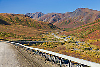 James Dalton Highway at the Chandalar Shelf, arctic, Alaska.