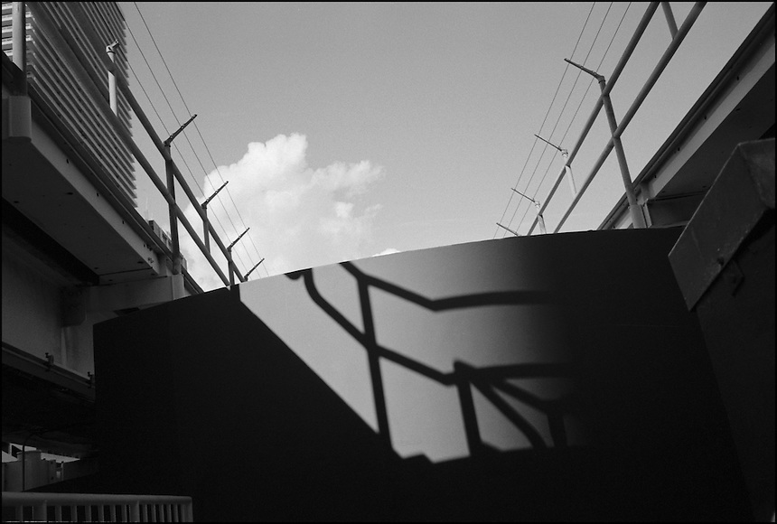 Shadow VI<br /> From &quot;Miami in Black and White&quot; series. Miami, 2009