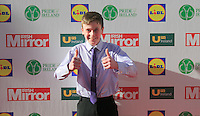 19/05/2015 <br /> David Rawle <br /> during the Irish mirror pride of Ireland awards at the mansion house, Dublin.<br /> Photo: gareth chaney Collins