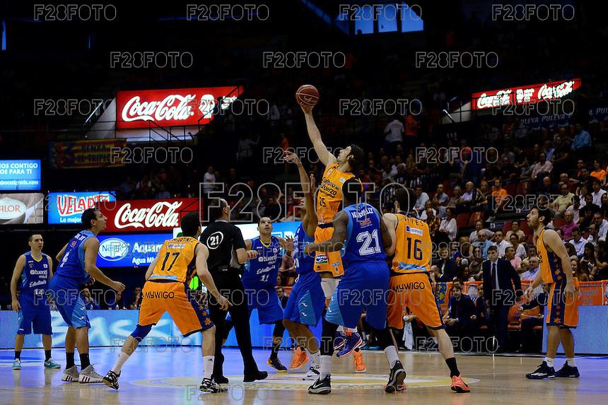 Valencia Basket 84-67 Estudiantes (26-10-2014)