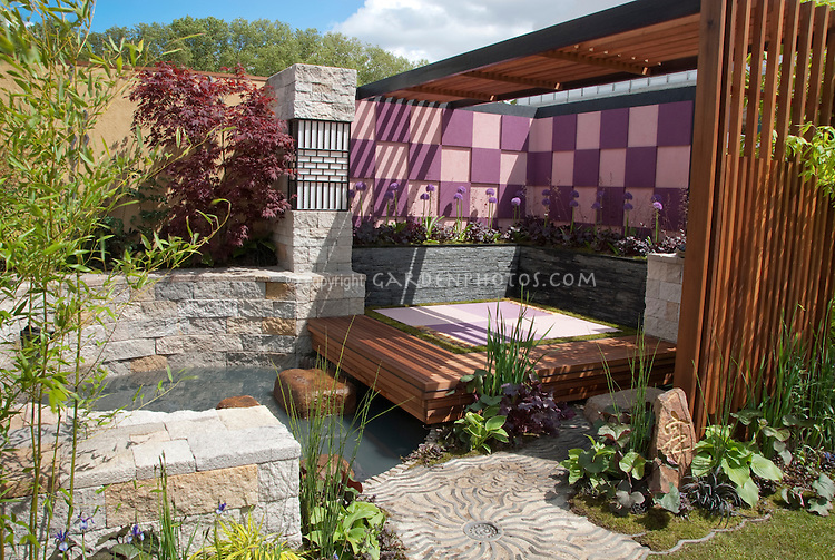 Patios Decks Garden Rooms Images Plant Flower Stock