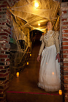 """Ghost in Truckee 1"" - Photograph of a ghost at the 2011 Truckee Historical Haunted Walking Tour."