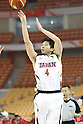 Keijuro Matsui (JPN), SEPTEMBER 15, 2011 - Basketball : 26th FIBA Asia Championship Preliminary round Group C match between Japan 81-59 Indonesia at Wuhan Sports Center in Wuhan, China. (Photo by Yoshio Kato/AFLO)