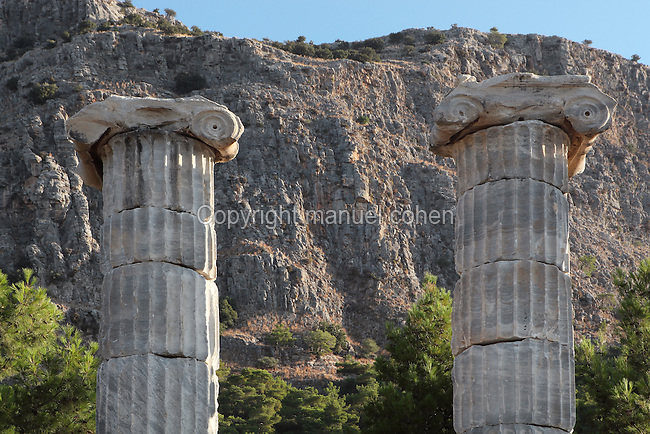Temple of Athena, Priene, Aydin, Turkey  Manuel Cohen