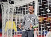 FUSSBALL CHAMPIONS LEAGUE  SAISON 2015/2016 ACHTELFINAL HINSPIEL AS Rom - Real Madrid                 17.02.2016 Cristiano Ronaldo (Real Madrid)