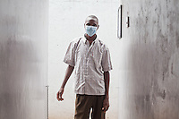 Julius Irungu, 30, will finish his treatment for MDR-TB in May 2011. When he arrived for treatment 2 years ago he could barely walk 100 yards. &quot; Look how beautiful i am now!&quot; he said.