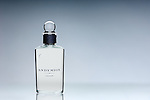 A bottle of Penhaligans Endymion perfume with a graduated blue grey setting