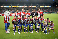 CARSON, CA – OCTOBER 9: The Chivas USA starting lineup for a soccer match at Home Depot Center, October 9, 2010 in Carson California. Final score Chivas USA 3, Toronto FC 0.