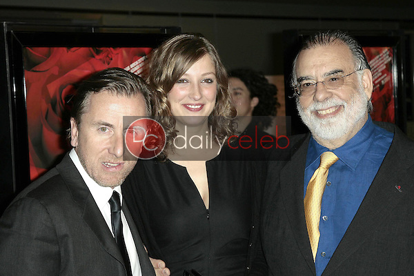 Tim Roth with Alexandra Maria Lara and Francis Ford Coppola<br />at the Los Angeles premiere of 'Youth Without Youth'. WGA Theater, Beverly Hills, CA. 12-07-07<br />Dave Edwards/DailyCeleb.com 818-249-4998