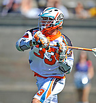 23 August 2008: Los Angeles Riptide Midfielder Kevin Buchanan in action against the Denver Outlaws during the Semi-Finals of the Major League Lacrosse Championship Weekend at Harvard Stadium in Boston, MA. The Outlaws edged out the Riptide 13-12, advancing to the upcoming Championship Game.. .Mandatory Photo Credit: Ed Wolfstein Photo