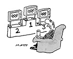 Sport and Leisure Cartoons