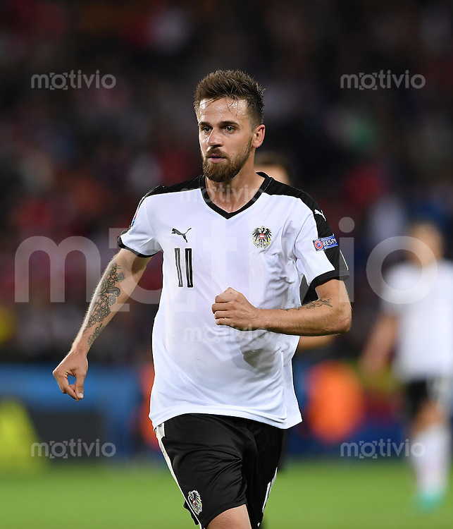 FUSSBALL EURO 2016 GRUPPE F in Paris Portugal - Oesterreich      18.06.2016 Martin Harnik (Oesterreich)