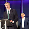 Mayor of London and London Assembly results announcement at City Hall, London, Great Britain <br /> 6th May 2016 <br /> <br /> <br /> <br /> Zac Goldsmith - Conservative<br /> <br /> <br /> <br /> Sadiq Khan - Labour <br /> <br /> The winner was Sadiq Khan who is appointed the new mayor of London <br /> <br /> <br /> <br /> Photograph by Elliott Franks <br /> Image licensed to Elliott Franks Photography Services