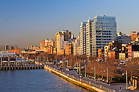 New York, New York CIty, Hudson River Park , West Village, Greenwich VIllage