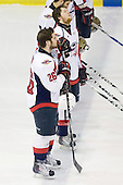 Ryan Ellis (Windsor - 6), Kenny Ryan (Windsor - 26) - The Windsor Spitfires defeated the Plymouth Whalers 3-2 (OT) to sweep the Ontario Hockey League Western Conference Semi-Finals on Wednesday, April 7, 2010, at Compuware Arena in Plymouth, Michigan.