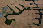 Aerial photos of the California Delta, June 28, 2011.