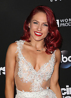 "Los Angeles, CA - NOVEMBER 22: Sharna Burgess, At ABC's ""Dancing With The Stars"" Season 23 Finale At The Grove, California on November 22, 2016. Credit: Faye Sadou/MediaPunch"