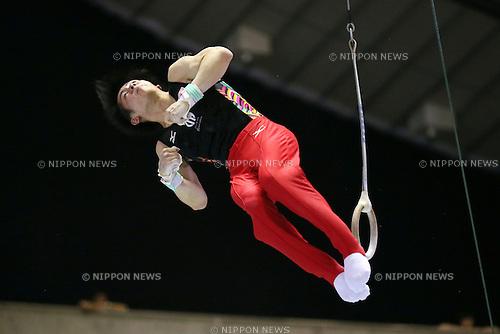 kohei Uchimura (JPN), JUNE 9, 2013 - Artistic gymnastics : The 52nd NHK Cup, Men's Individual All-Around final round at Yoyogi 1st Gymnasium, Tokyo, Japan. (Photo by Yusuke Nakanishi/AFLO SPORT)