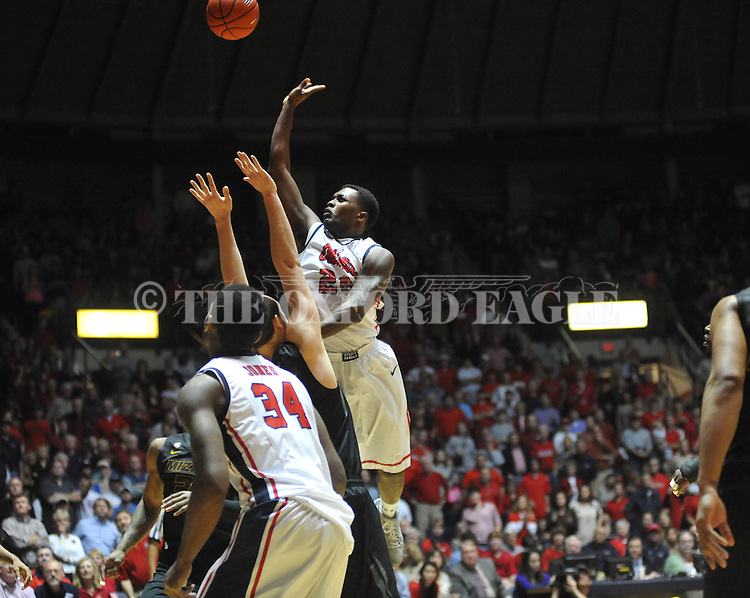 "Ole Miss' Nick Williams (20) vs. Missouri at the C.M. ""Tad"" Smith Coliseum on Saturday, January 12, 2013. Ole Miss defeated #10 ranked Missouri 64-49."