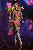 Eniko Mihalk on the runway at the Victoria's Secret Fashion Show 2014 London held at Earl's Court, London. 02/12/2014 Picture by: James Smith / Featureflash