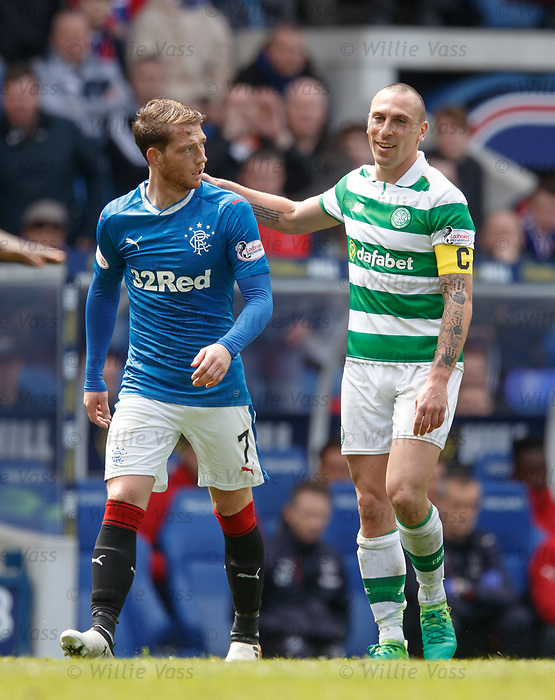 Joe Garner and Scott Brown