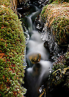 A small stream at Dalsnuten, Norway.