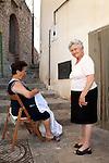 Basilicata, ITALY locals in Basilicata, italy