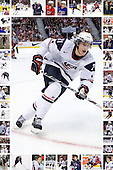 Images of James van Riemsdyk with Team USA from NTDP U-18s through WJC 09.