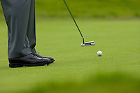 22 February 2009: Golfer making a putt on the green  during the final round of the PGA Tour 2009 Northern Trust Open at The Riviera Country Club on Sunday in Los Angeles, CA.