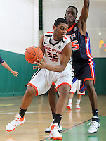 April 8, 2011 - Hampton, VA. USA; Thomas Hamilton participates in the 2011 Elite Youth Basketball League at the Boo Williams Sports Complex. Photo/Andrew Shurtleff