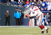 27 Nov 2005:   New York Giants punter Jeff Feagles punted during the first quarter against the Seattle Seahawks at quest field in Seattle, WA.