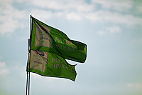 4 August, 2011; Lexington, OH, USA; Patron Paddock Flags; Mid-Ohio Sports Car Challenge, American Le Mans Series RD5;  Mandatory Credit: Scott LePage-MotorRacingPhoto    &copy; 2011 Scott LePage  http://MotorRacingPhoto.com