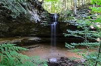 Summer flow at Memorial Falls