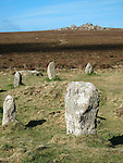 Tregeseal Stone Circle, Cornwall, UK