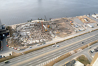 1982 January 25..Redevelopment.Downtown South (R-9)..WATERSIDE.CONSTRUCTION PROGRESS...NEG#.NRHA#..