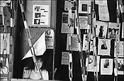 """All over Lower Manhattan,New York, """"missing"""" posters for loved ones and employees grace the street walls as people appeal for help in the wake of September 11th 2001 terrorist attack on the World Trade Centre buildings in Lower Manhattan by AL-Qaeda terrorists, New York, United States of America."""