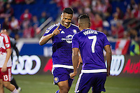 HARRISON, NJ - Sunday April 24, 2016: The New York Red Bulls take on Orlando SC at home at Red Bull Arena during the 2016 MLS regular season.