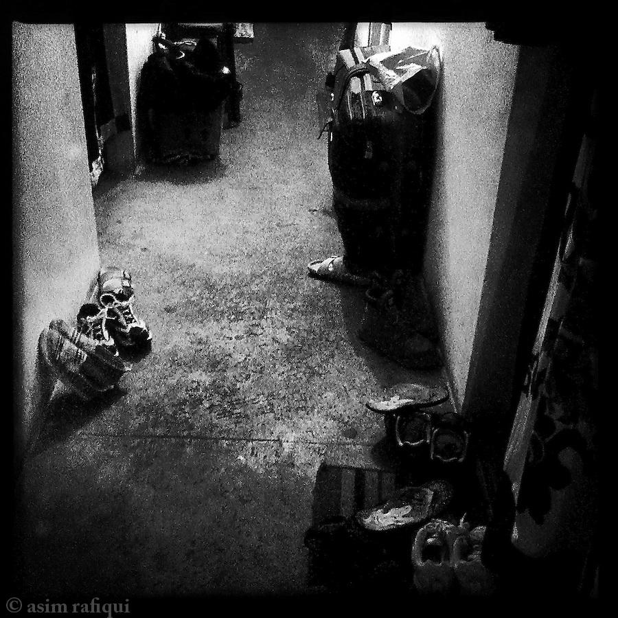 Scenes from refugee hostels, McCleodGanj, India