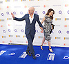 O2 Silver Clef Awards and lunch in aid of Nordoff Robbins 3rd July 2015 at Grosvenor House Hotel, Park Lane, London, Great Britain <br /> <br /> Red carpet arrivals <br /> <br /> Patrick Stewart with wife Sunny Ozell <br /> <br /> <br /> Photograph by Elliott Franks<br /> <br /> 2015 &copy; Elliott Franks