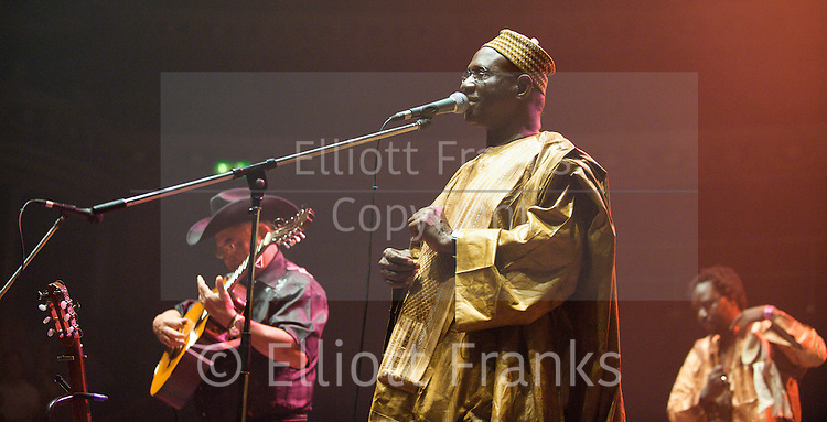 AfroCubism<br /> performing live at The Royal Albert Hall, London, Great Britain <br /> 27th June 2011<br /> <br /> Eliades Ochoa<br /> Kasse Mady Diabat&eacute; <br /> <br /> Photograph by Elliott Franks