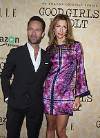 NEW YORK, NY-October 18: Chris Diamantopoulos, Alysia Reiner at Amazon Originasl Series Good Girls Revolt screening  at the Joseph Urban Theater at Hearst Tower in New York.October 18, 2016. Credit:RW/MediaPunch