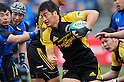 Juntarou Takemoto (Sungoliath),.FEBRUARY 26, 2012 - Rugby : Japan Rugby Top League 2011-2012,Play Off Tournament Final .match between Suntory Sungoliath 47-28 Panasonic Wild Knights at Chichibunomiya Rugby Stadium, Tokyo, Japan. (Photo by Jun Tsukida/AFLO SPORT) [0003] .