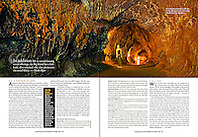 Scuba Diving Magazine, September/October 2009, full + page, editorial use, USA, Image ID: Hawaii-Volcanoes-National-Park-0065