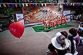 Sochi 06.06.2010 Russia<br /> Picnic for residents of Sochi. The event was organized on the occasion of the Olympic Games in 2014.<br /> Photo: Adam Lach / Newsweek Polska / Napo Images<br /> <br /> Festyn dla mieszkancow Soczi. Impreza zostala zorganizowana z okazji Igrzysk Olimpijskich w 2014 roku.<br /> Photo: Adam Lach / Newsweek Polska / Napo Images