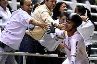 CALI – COLOMBIA – 18-02-2017: Fabian Puerta de Colombia, gana medalla de oro en la prueba Keirin, en el Velodromo Alcides Nieto Patiño, sede de la III Valida de la Copa Mundo UCI de Pista de Cali 2017. / Fabian Puerta of Colombia, win gold medal in the test Keirin, at the Alcides Nieto Patiño Velodrome, home of the III Valid of the World Cup UCI de Cali Track 2017. Photo: VizzorImage / Luis Ramirez / Staff.