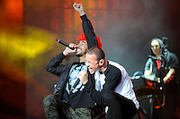 JUN 14 Linkin Park performing at Download Festival